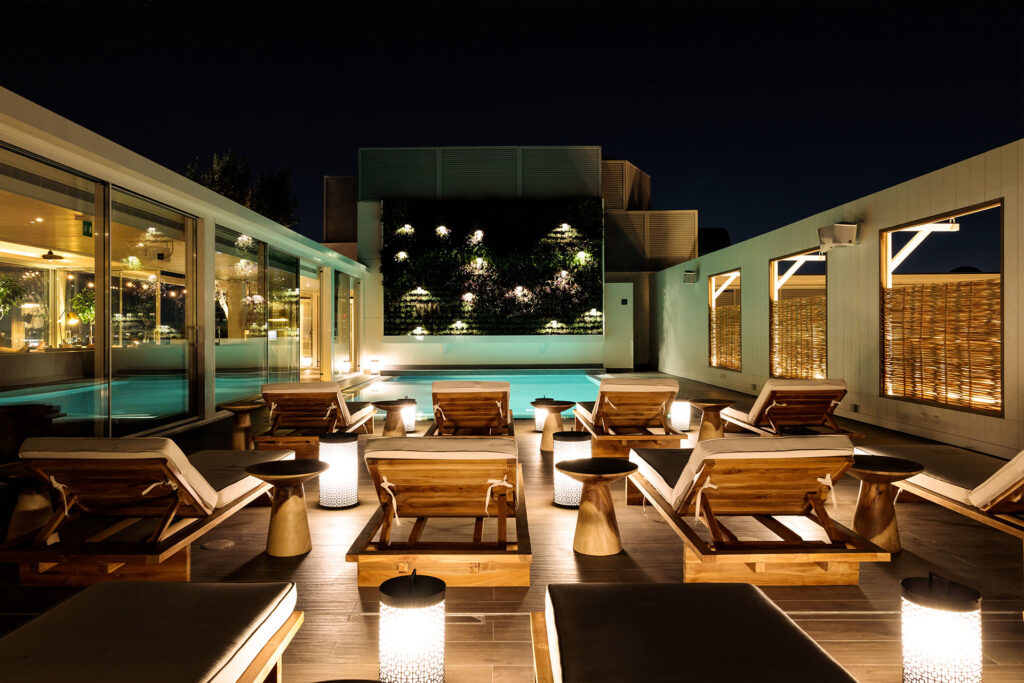 SOUQ Design Project E&O bar and restaurant Pool