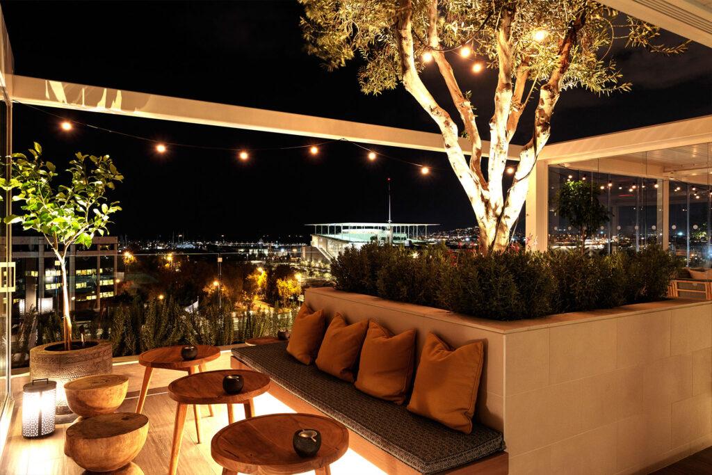 SOUQ Design Project E&O bar and restaurant Terrace